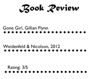 Gone Girl Book 1