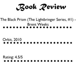 The Black Prism 1