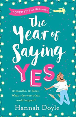 The Year of Saying Yes by Hannah Doyle - a book I would gift to a loved one
