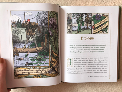An illustrated edition of Robin Hood