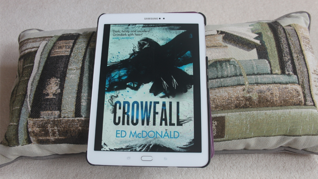 Book review: Crowfall by Ed McDonald